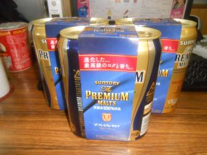 差し入れ ビール
