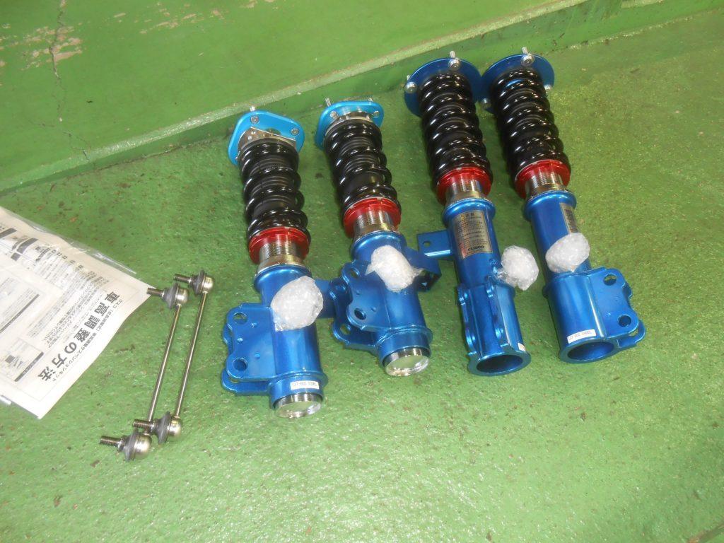 MR2 SW20 車高調取付 四輪アライメント