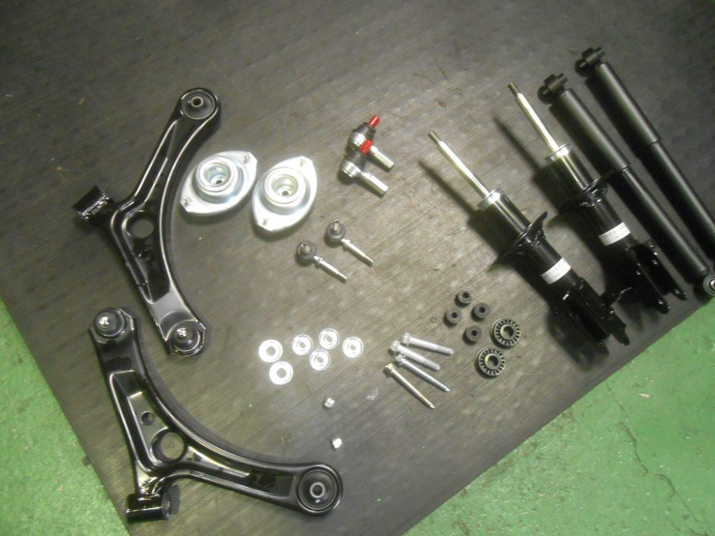 モコ MG22S 足回り修理