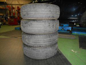 交換タイヤ