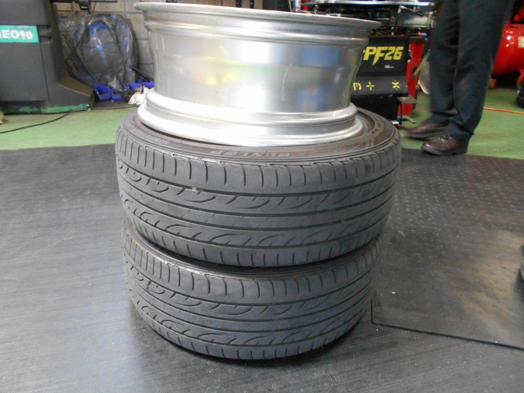MINIクーパー R56 タイヤ交換と四輪アライメント