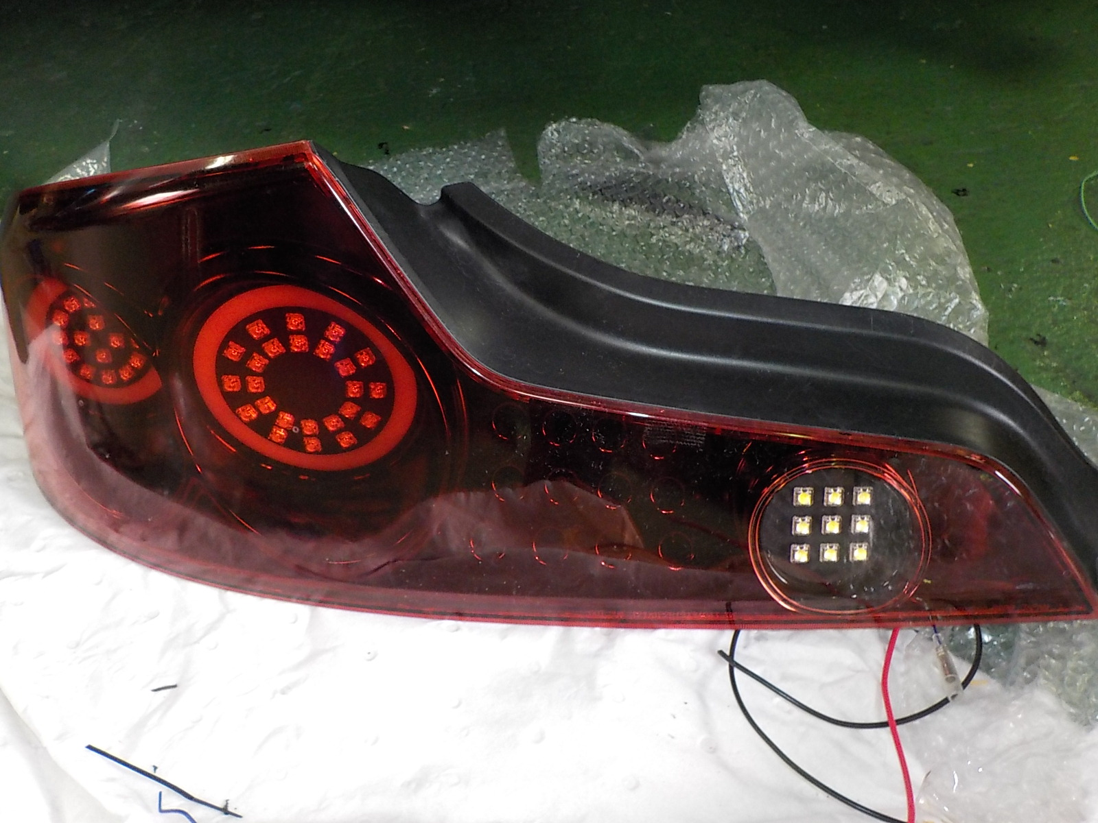 V35 LED加工テールレンズ交換