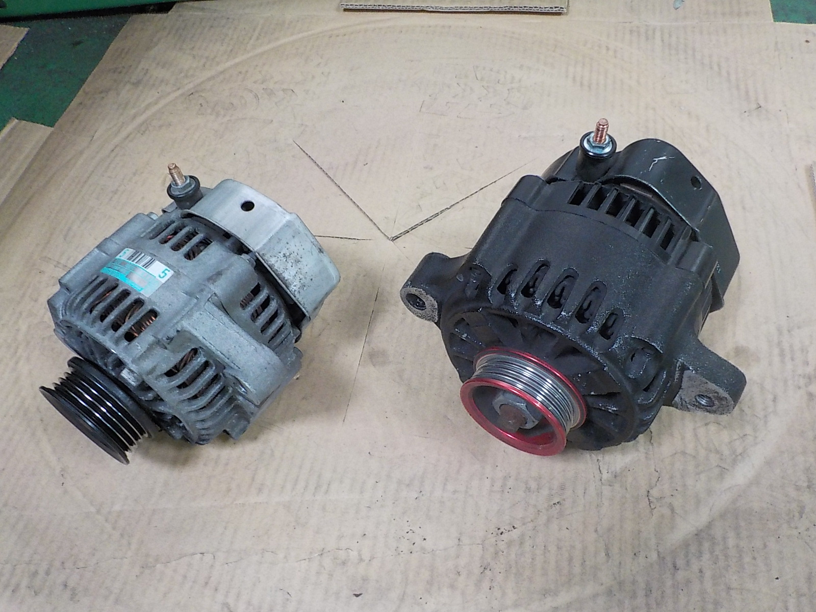 タント L350のオルタネーター交換