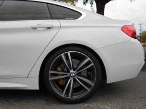 BMW F36リア車高