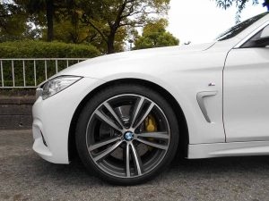 BMW F36 フロント車高