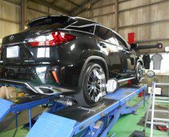 RX200t 四輪アライメント