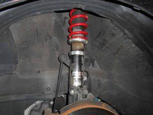RS-R車高調の車高調整