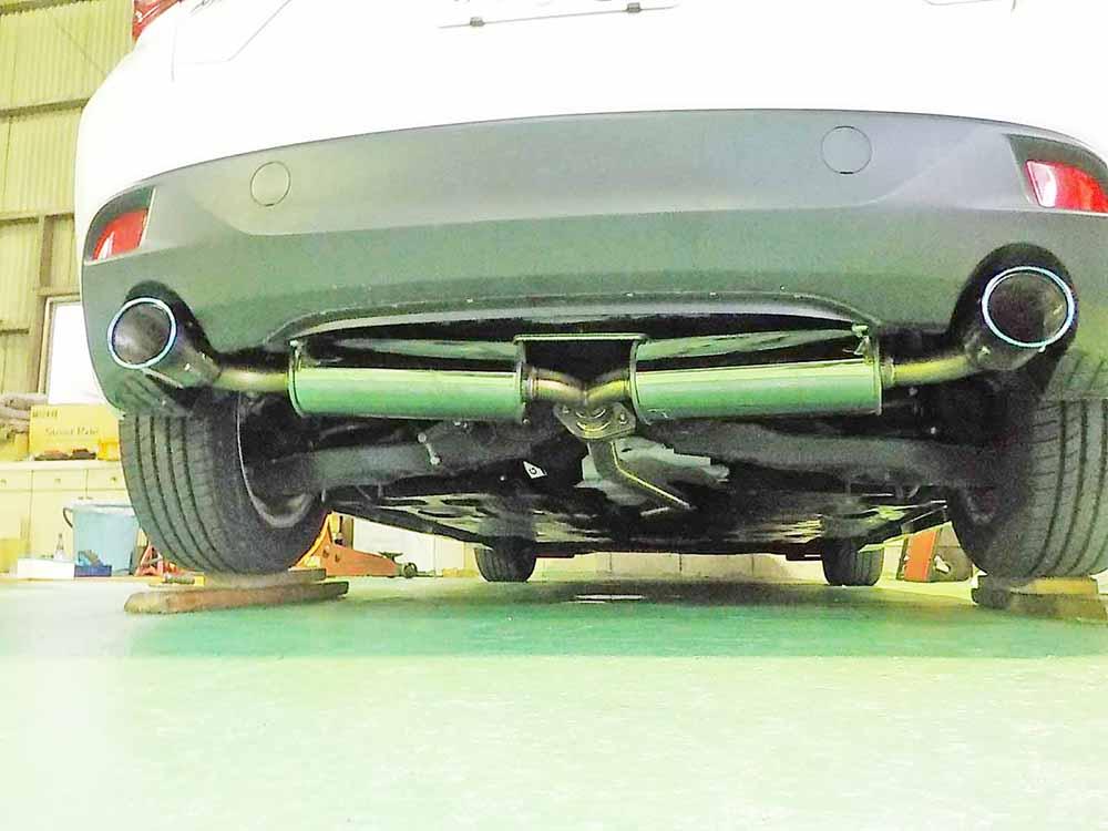 アクセラ BMシリーズのGPスポーツマフラー交換