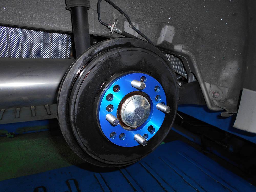K13 NISMOマーチ 四輪アライメント 車高調整 キャンバープレート、ボルト