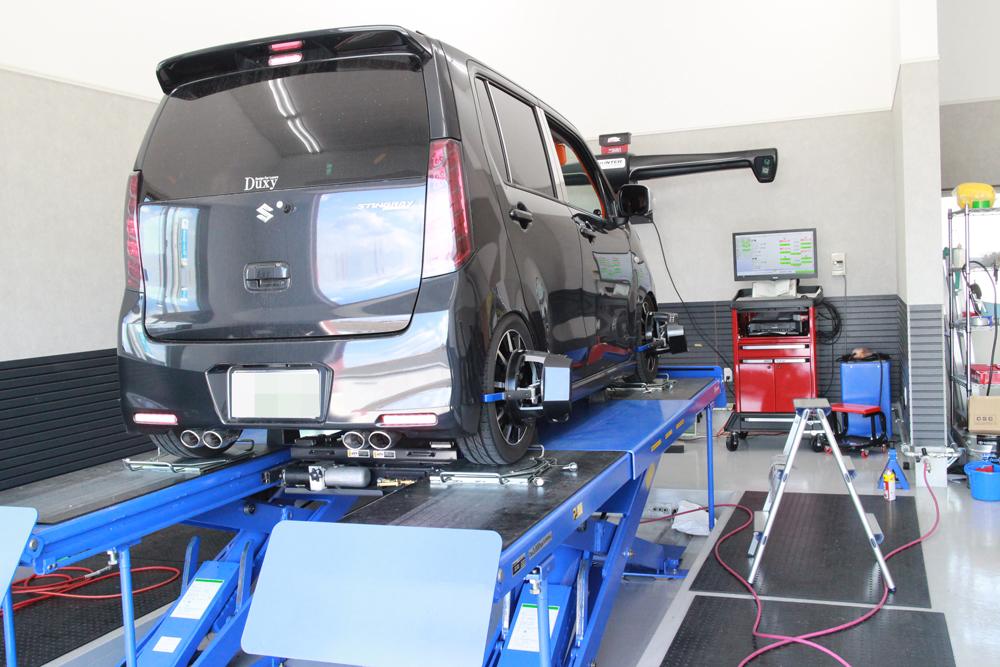 ワゴンR MH34Sの四輪アライメント