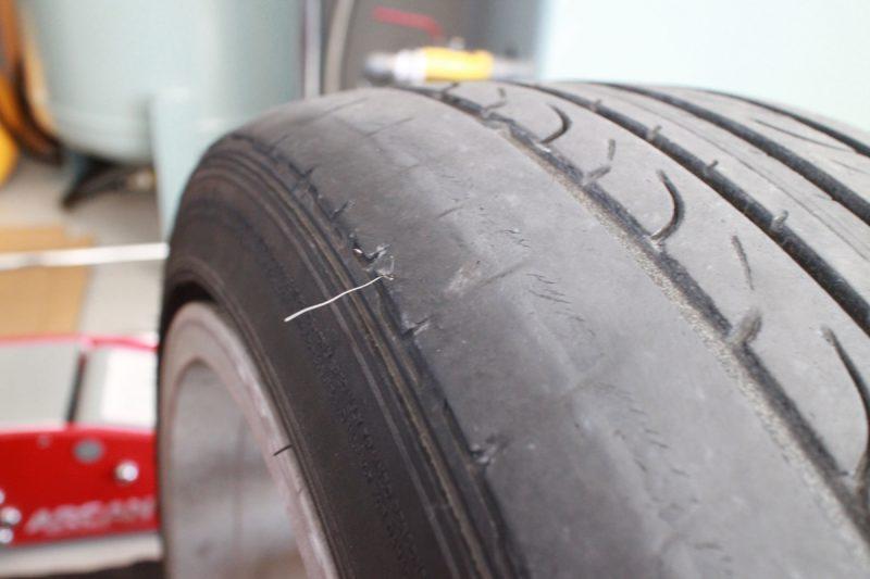 タイヤのワイヤー