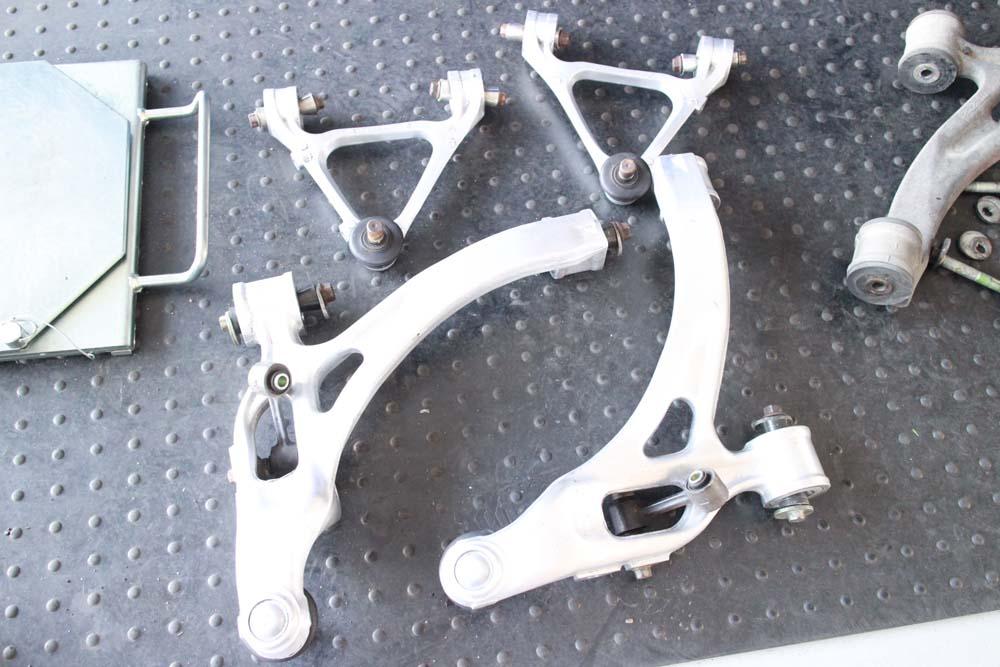 RX7 FD3Sのアーム交換と四輪アライメント