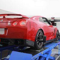GTRの四輪アライメント