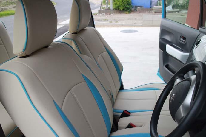 運転席シートカバー