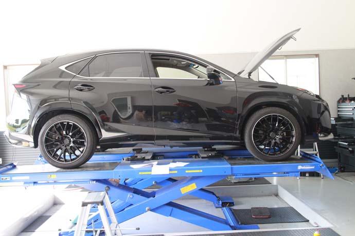 NX200tの車高調