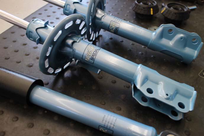 エアウエイブ GJ2 サスペンション交換 四輪アライメント