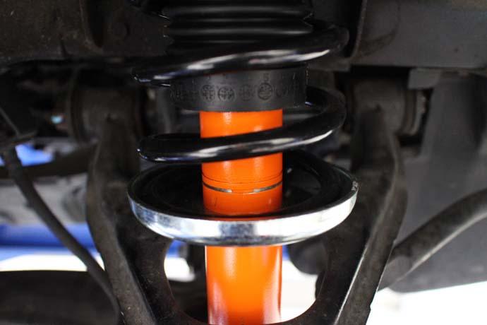 ロードスター NA6CE Cリング車高調整 四輪アライメント