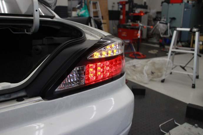 S15 シルビア 車高調製と四輪アライメント