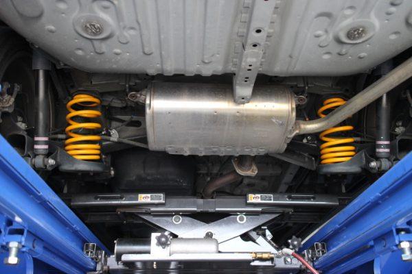 エスティマ ACR50W ダウンサス取付と四輪アライメント調整