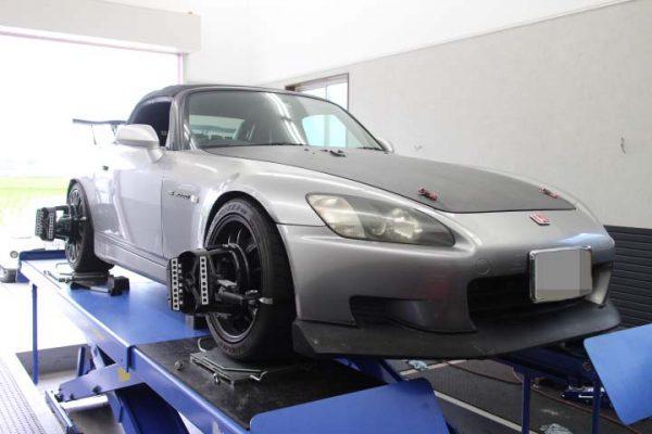 S2000 タイヤ交換 四輪アライメント調整
