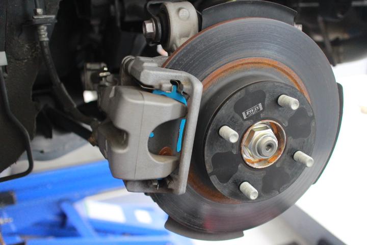 ロードスター ND5RC ブレーキパット+ローター交換