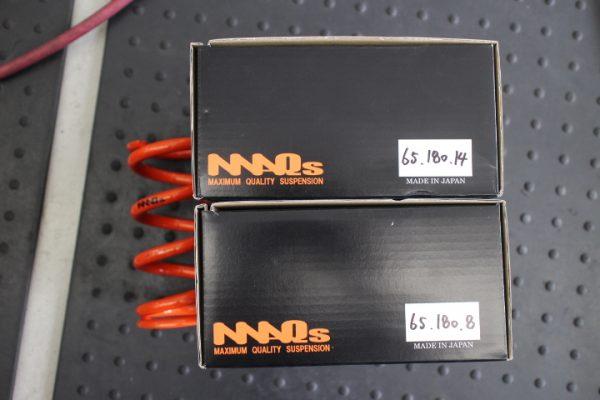 ロードスター ND5RC 車高調直巻きスプリング交換
