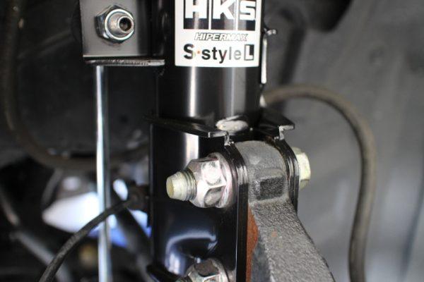 ノート E12 車高調取り付け 四輪アライメント調整