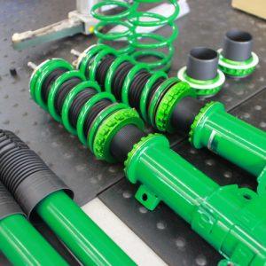 NBOX JF3 車高調取り付け 四輪アライメント調整