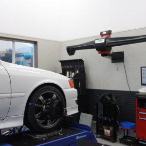 チェイサー JZX100 タイヤ交換と四輪アライメント調整