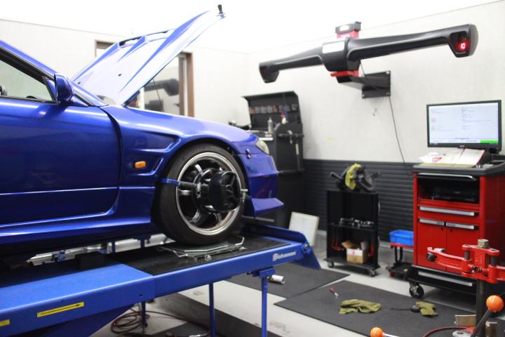 S15 四輪アライメント調整