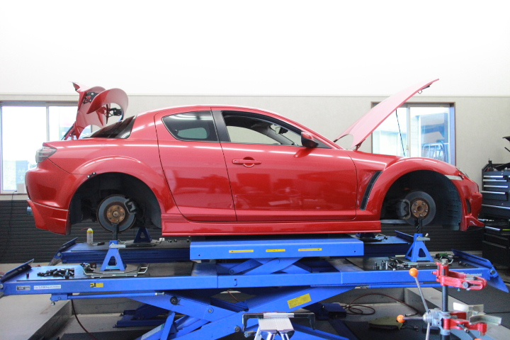 1G締め RX-8