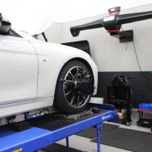 BMW F31 四輪アライメント調整
