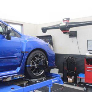 WRX VAG タイヤ交換 四輪アライメント調整