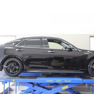 AWS210 クラウン 車高調取り付け 四輪アライメント調整