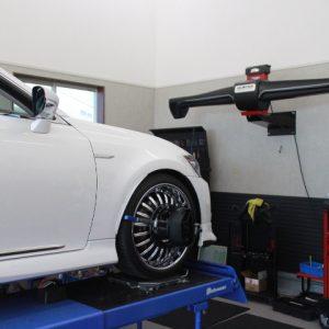 レクサス GS 四輪アライメント調整