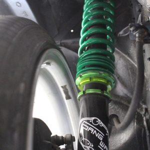 Y31グロリア 車高調のスプリング交換
