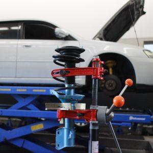 レガシィ BPE サスペンション交換  四輪アライメント調整