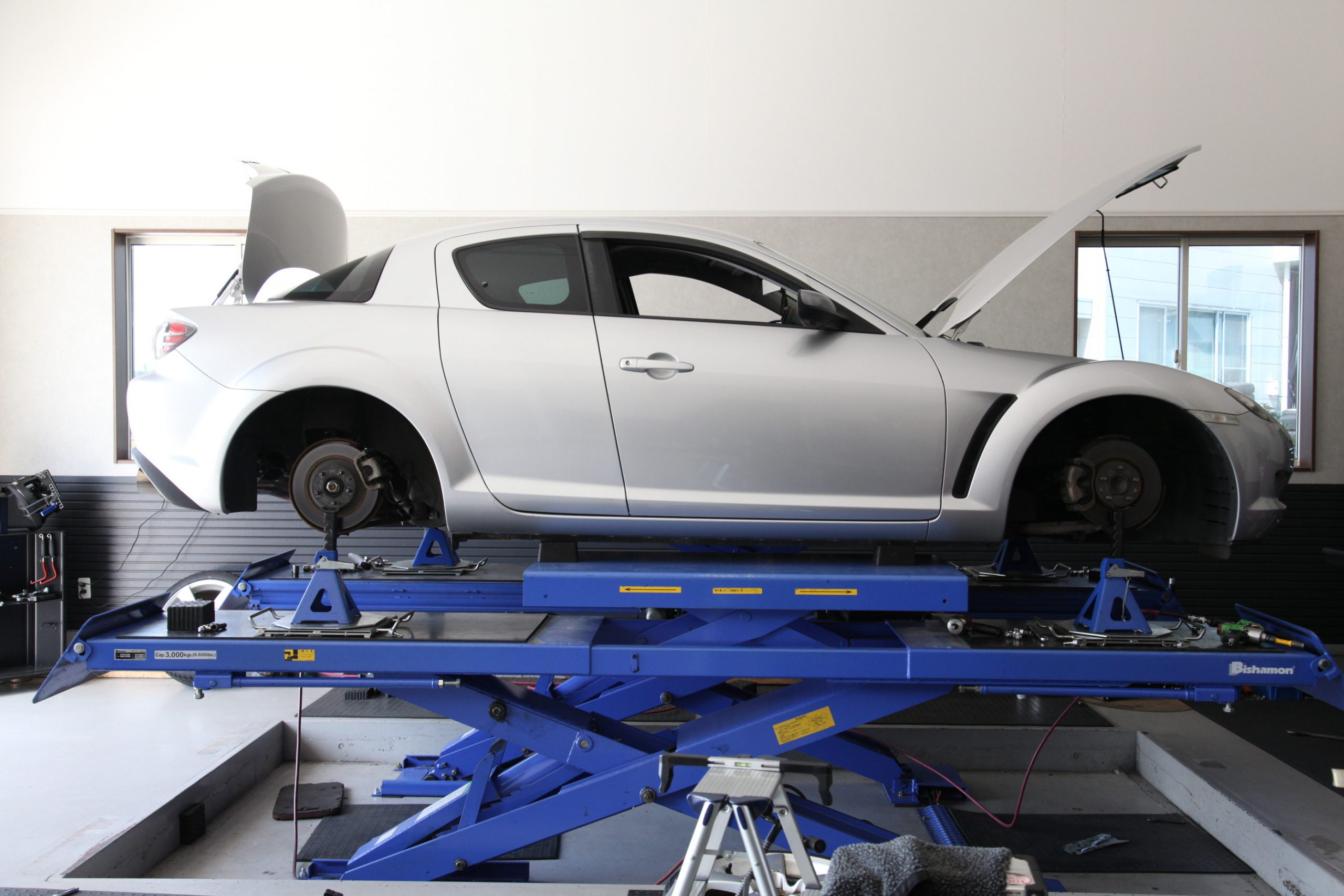 RX-8 1G締め