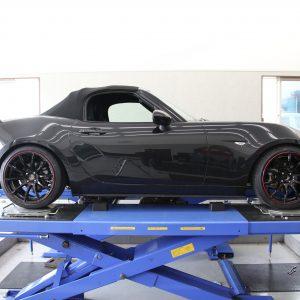 ロードスター ND5RC 車高調取り付け 四輪アライメント調整