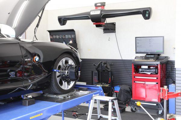 Z4 E85 四輪アライメント調整