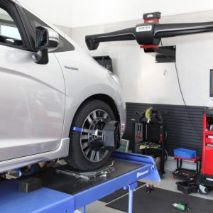 フィット GP5 タイヤ交換 四輪アライメント調整
