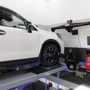 フォレスタ SJG 車高調整 四輪アライメント調整