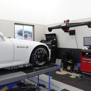 S2000 SPOONリジカラ サスペンション 四輪アライメント調整