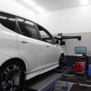フィット GD3 タイヤ交換 四輪アライメント調整