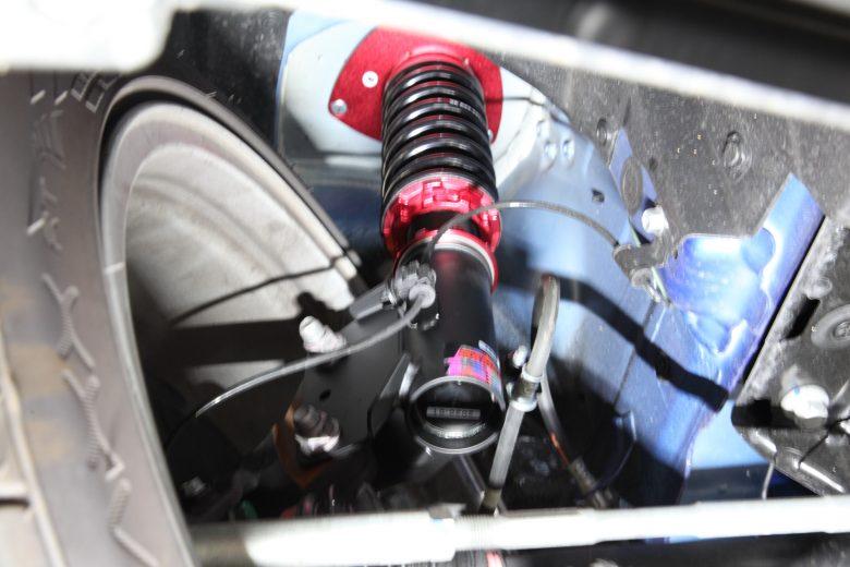 WRX フロント車高調