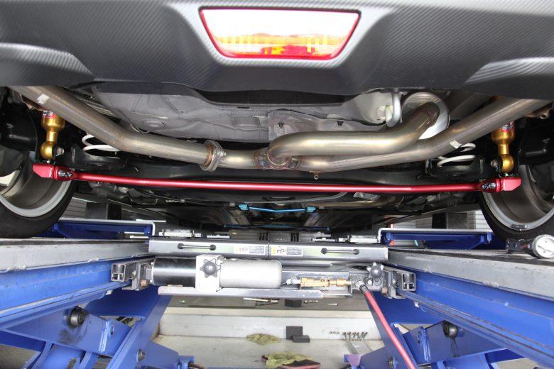 スイフト ZC33S リジカラ・トルクダンパー・リアスタビ・四輪アライメント調整