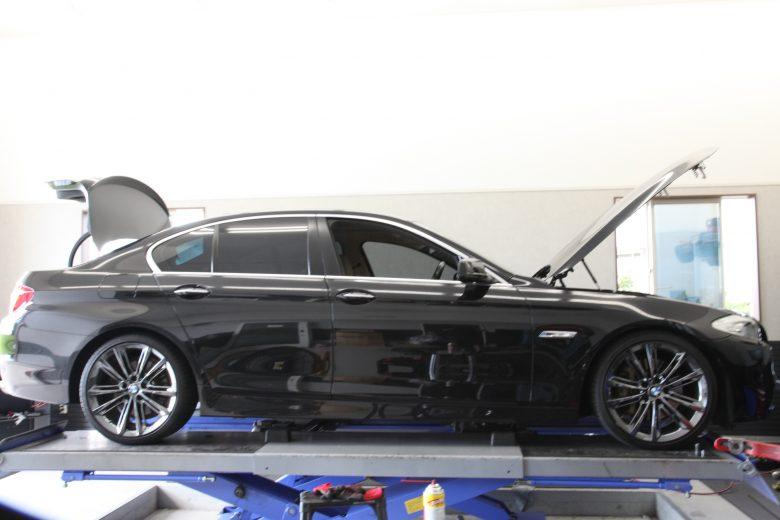 BMW フォクトランドスプリング使用