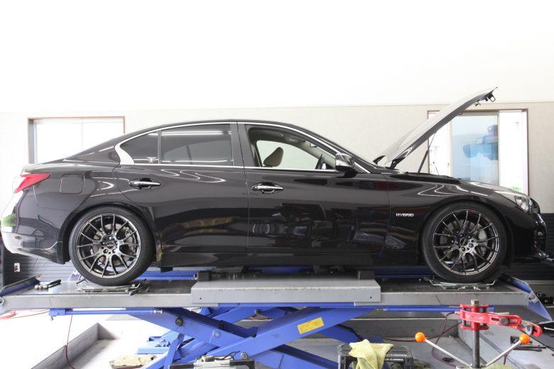 HKS車高調 V37