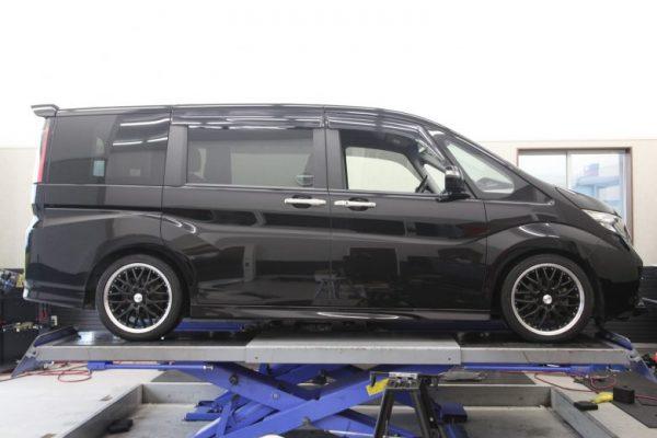 ステップワゴン RP3 TEINハイテク取り付け 四輪アライメント調整