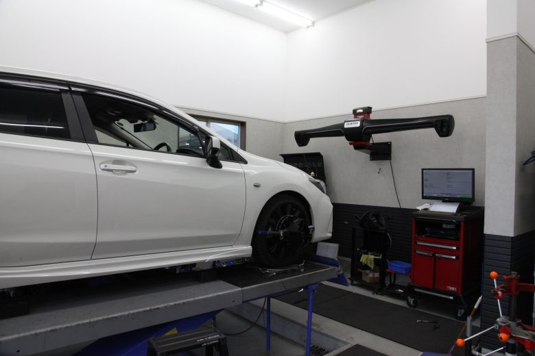 四輪アライメント GT3